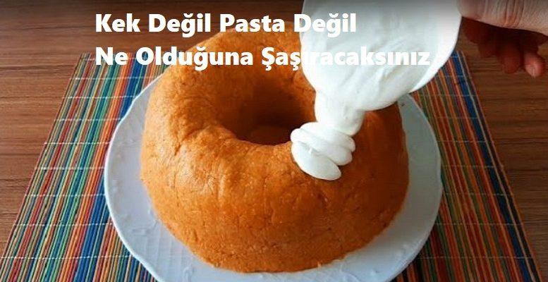 Kek Değil Pasta Değil Ne Olduğuna Şaşıracaksınız 1