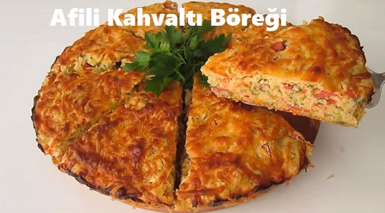 Afili Kahvaltı Böreği