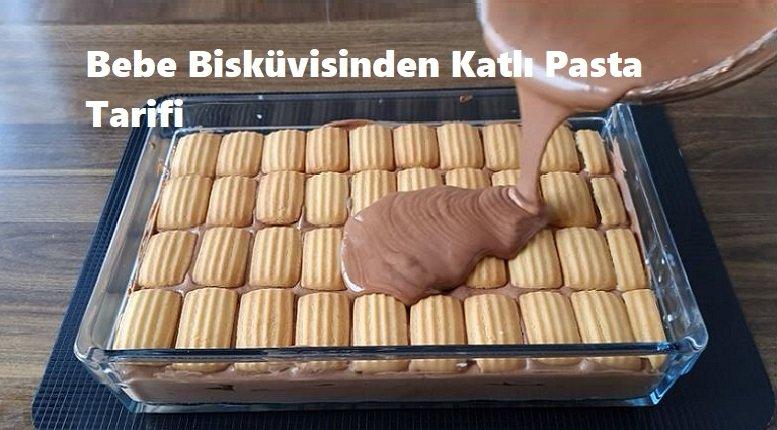 Bebe Bisküvisinden Katlı Pasta Tarifi