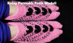 Kolay Parmaklı Patik Modeli1