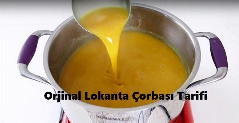 Orjinal Lokanta Çorbası Tarifi 1