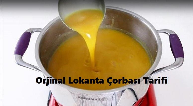 Orjinal Lokanta Çorbası Tarifi