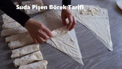 Suda Pişen Börek Tarifi