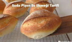 Suda Pişen Ev Ekmeği Tarifi 1