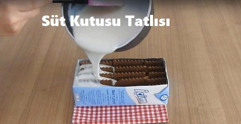 Süt Kutusu Tatlısı 1