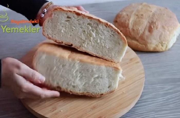 Evde Karantina Ekmeği Tarifi 2