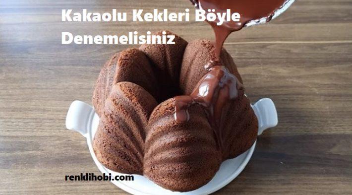 Kakaolu Kekleri Böyle Denemelisiniz