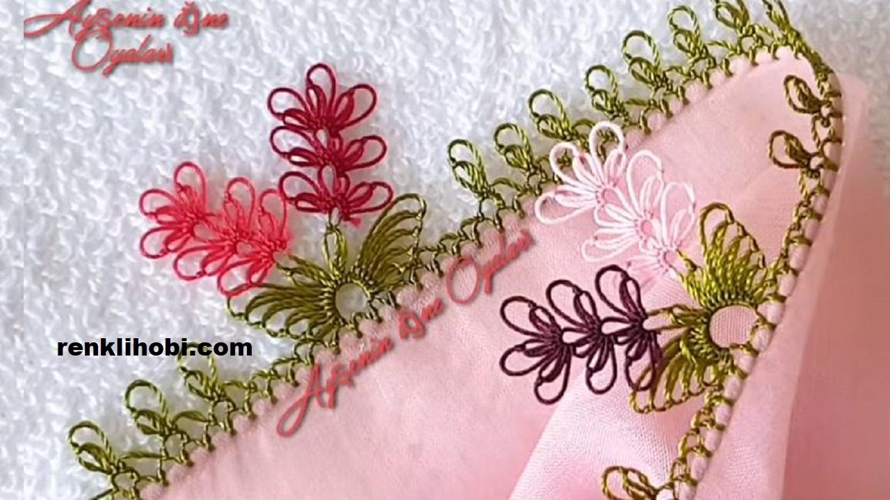 Mutlu Gün Çiçekleri İğne Oyası Modelleri