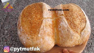 Yoğurmadan En Pratik Ekmek Tarifi