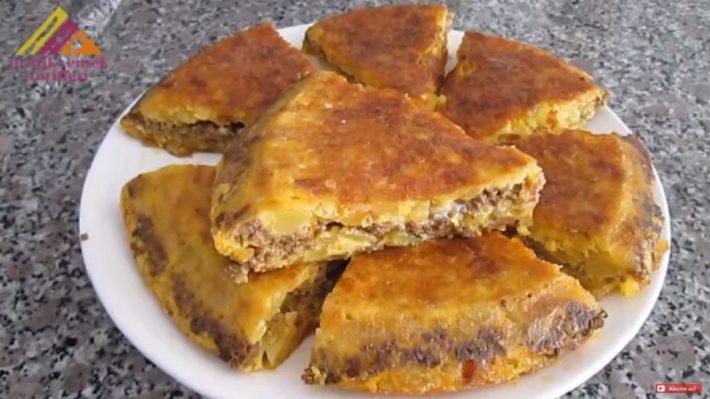 En Kolay Kahvaltılık Tava Böreği Tarifi