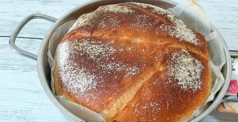 Tencerede Taş Fırın Ekmeği Tarifi 2