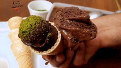 Hazır Sanılan Evde Çikolatalı Dondurma Tarifi