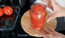 Bu Domatesi Salataya Bile Kullanabilirsiniz Kışlık Tarif 2