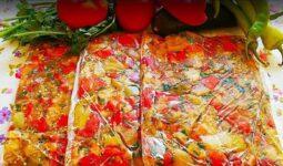 Köz Sebzeli Mezelik Ve Kahvaltılık Tarifi 1
