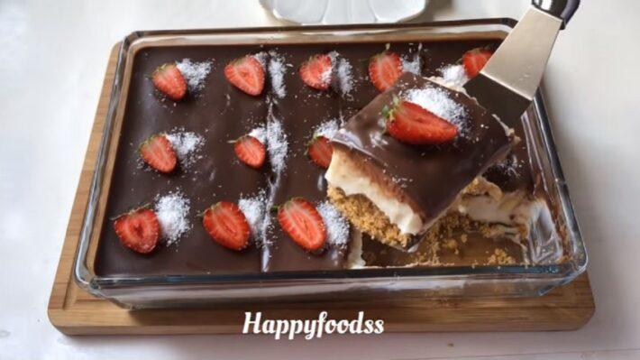Artık Sütlü Tatlıyı Pasta Şeklinde Yapacaksınız