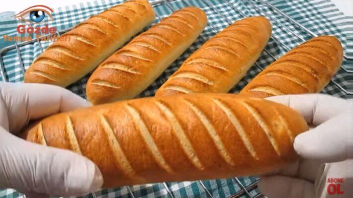 Böyle Yapılırmı Dedirten Ekmek Yapma Yöntemi