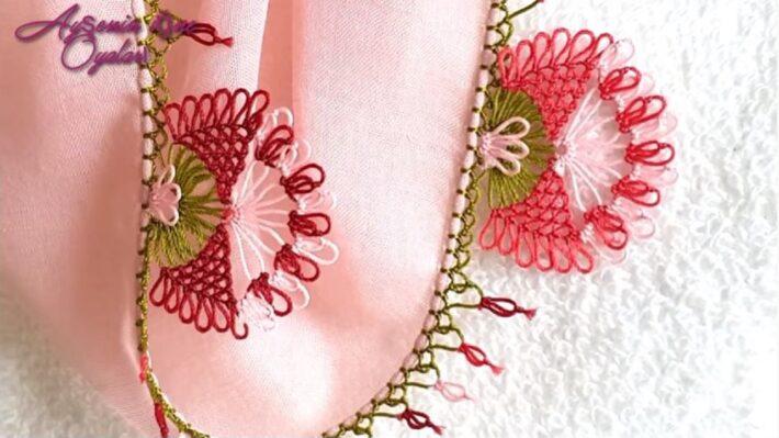 Papyon Çiçeği İğne Oyası Modelleri