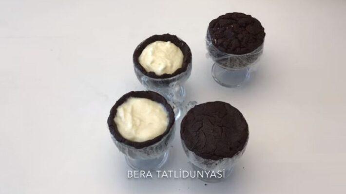 Pişmeyen İkramlık Gün Pastası Tarifi 2