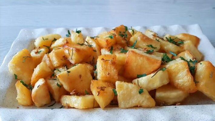 Suyuna Soda Eklenen Patatesli Kahvaltılığa Bayılacaksınız