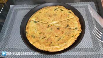 3 Patates 2 Yumurtadan İnanılmaz Pratik Tava Böreği Tarifi