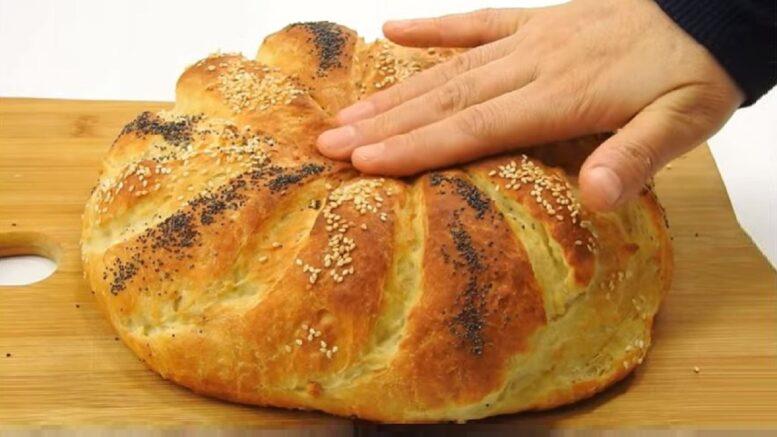 Cam Kasede Mayalanan Sütlü Ekmek Tarifi