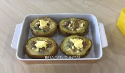 Farklı Patates Dolması Kahvaltılık Tarifi 2