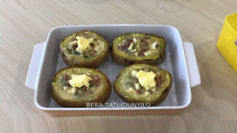 Farklı Patates Dolması Kahvaltılık Tarifi