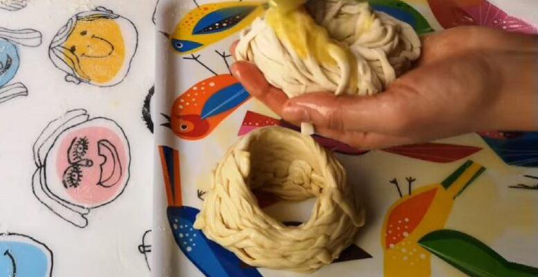 İp Gibi Sarılarak Yapılan Katmer Tarifi 2
