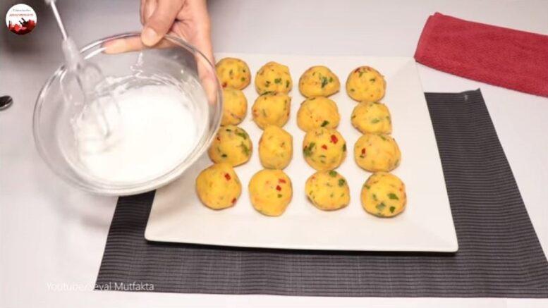 Parmak Yedirten Patates Topları