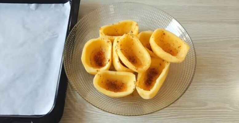 Patatesli Muhteşem Kahvaltılık Çanak Tarifi 1