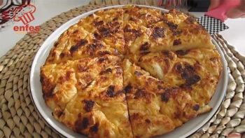 Anında Silip Süpürülen Tavada Börek Tarifi