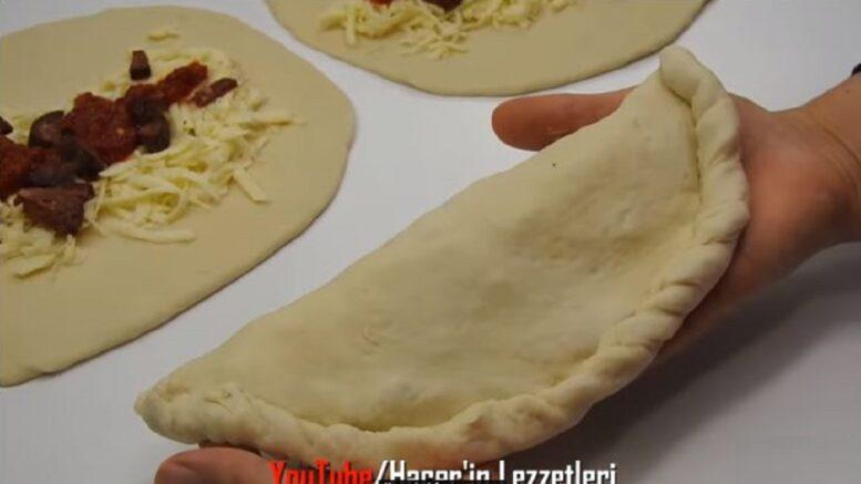 Kahvaltıda Hep İstenecek Kapalı Pizza Tarifi 2