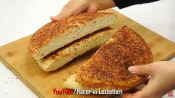 Tavada Fırından Çıkmış Gibi Şok Ekmek Tarifi
