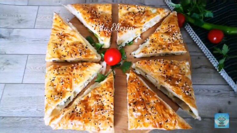 Yufkadan Milföy Sanılan Pazara Kahvaltıya Börek Tarifleri