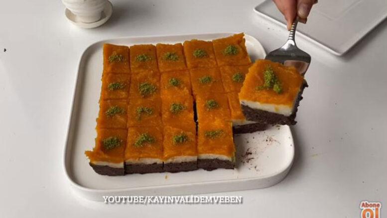 10 Dakikada Yapılan Renkli İrmik Pastası 4