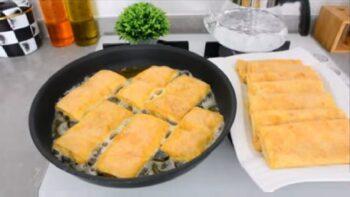 Aşırı Kolay Kahvaltıya Tava Böreği Tarifi