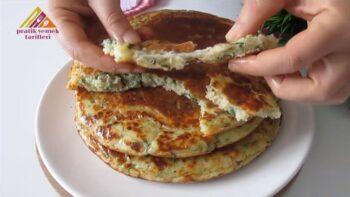 Börek Kıvamında Kahvaltılık Çörek Tarifi