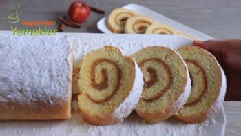 Pamuk Gibi Sarılan Yağsız Elmalı Pasta Tarifi