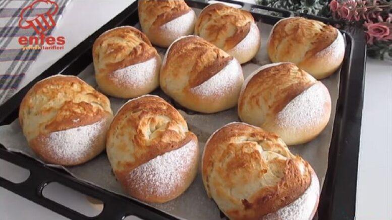 Tere Yağlı Damak Çatlatan Kahvaltılık Ekmek tarifi
