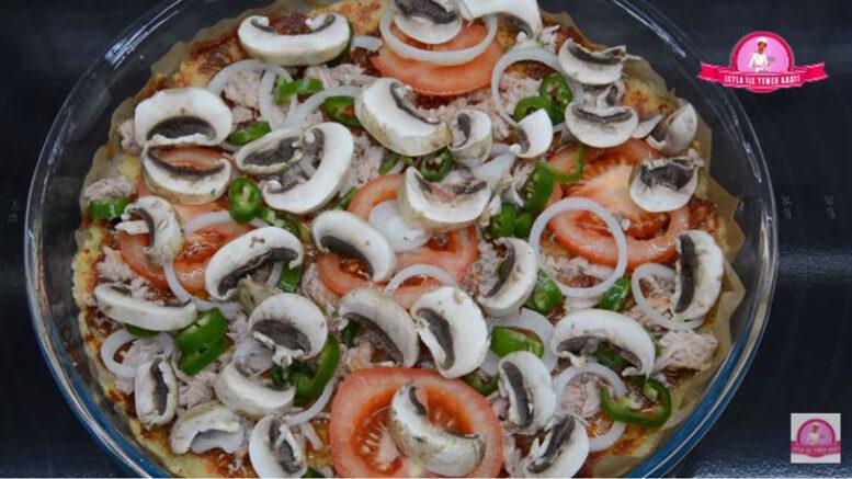 Yiyerek Zayıflatan Pizza Tarifi 3