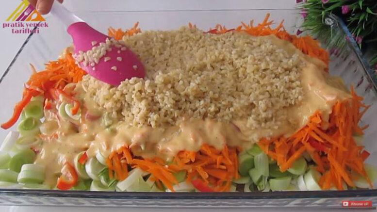 4 Kaşık Undan Dünyanın En Sağlıklı Kış Yemeği Tarifi 4