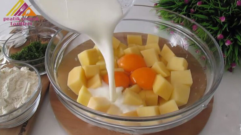 Bu Patatesli Krep Kahvaltıda Olay Olur 1