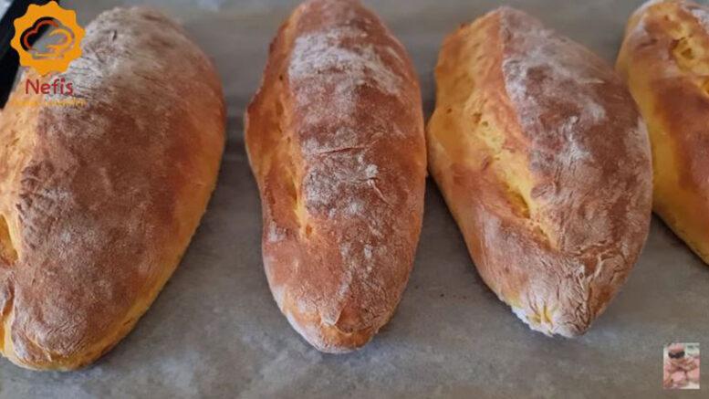 Evde Taş Fırın Ekmek Yapmanın Sırrı Bal Kabağında