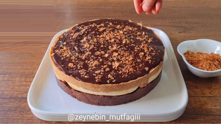 Fırın Yok Pişirme Yok 10 Dakikada Hazır Pasta Tarifi 3