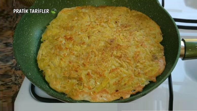 Biraz Patatesten Ve Yoğurttan Şipşak Kahvaltılık Tarifi
