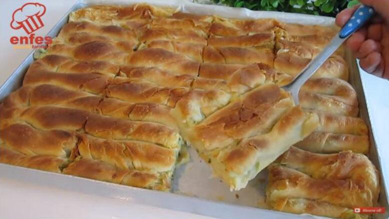 Böyle Yapılan Patatesli Böreğin Lezzeti Katlanıyor