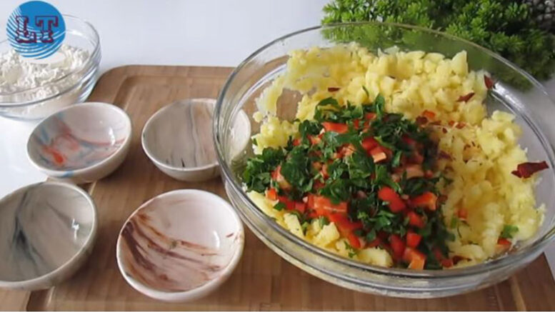 Çaya Kahvaltıya Patates Kroket Tarifi 1
