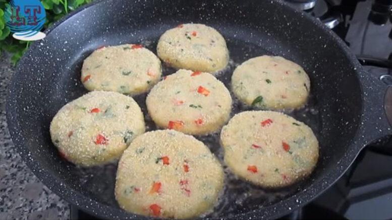 Çaya Kahvaltıya Patates Kroket Tarifi 3