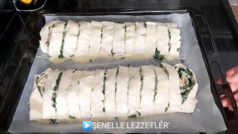 Çiğ Ispanaktan Su Böreği Tadında Harika Tarif 3