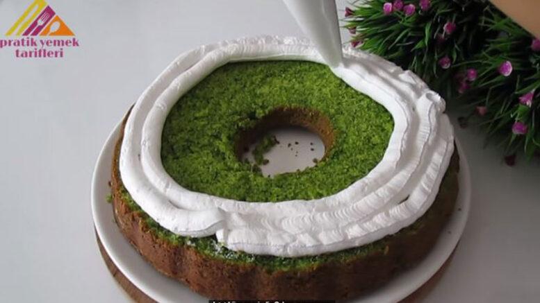 Ispanak İle Yapıldığına Kimsenin İnanmayacağı Pasta Tarifi